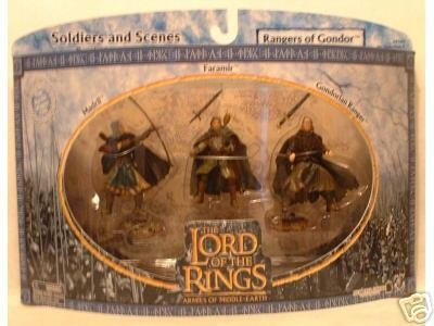 Lord of the Rings Armies of Middle Earth; Rangers of Gondor Figure Set 1/24 Scale