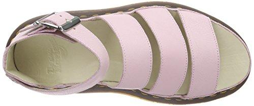 Mujer Rosa Clarissa Dr cerradas sandalias Pink Virginia Bubblegum Martens Bubblegum q0nxqwY