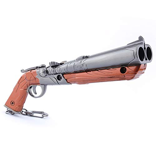 Games 1/6 Metal Double-barreled Shotgun Model Action Figure Arts Toys Collection Keychain Gift