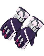 Meideli Children Warm Skiing Gloves Snowboard Gloves Waterproof Kids Winter Thermal Outdoor Gloves for Girls Boys