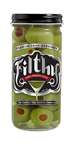 8oz Filthy Pimento Stuffed Olive Jar