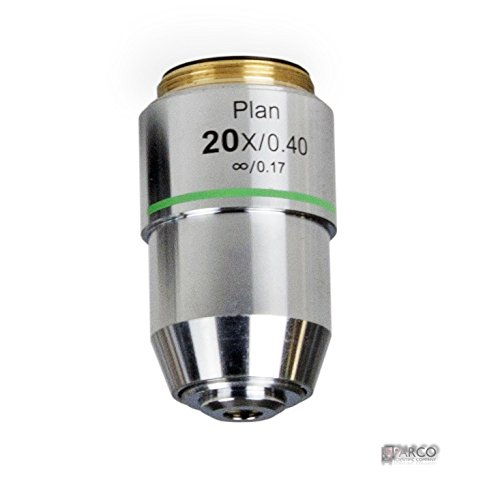 Parco Scientific 58A-0645 20X Infinity Plan Achromatic DIN Microscope Objective