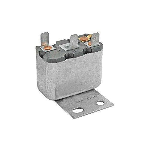 MACs Auto Parts 66-34944 - Ford Thunderbird Convertible Top Relay, 3 Contact Posts, Stamping # C2VB-15672-A