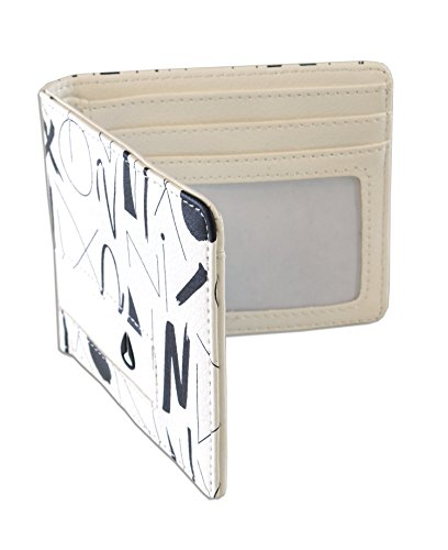 Nixon Men's Classic Showdown Bifold Wallet Art Print Edition Logo Embossed One Size (Nixon Embossed Belt)