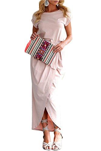 Herose Girls Spring Autumn Cute Outerwear Long One Piece Dress Online L/US M (Child Dress Online)