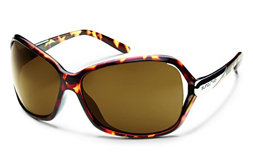 Suncloud Symphony Polarized Sunglasses, Tortoise Frame, Brown - Sunglasses Symphony