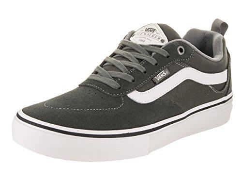 Vans Kyle Walker Pro Skateboarding Shoe - Gunmetal/White (8)