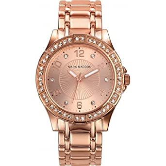 Mark Maddox Pink Gold Damenuhr roségoldfarben MM0004-99