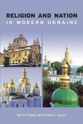 Book cover from Religion and Nation in Modern Ukraineby Serhii Plokhy