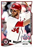2014 Topps Opening Day #200 Bryce Harper / Vertical - Washington Nationals (Baseball Cards)