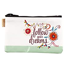 Karma Gifts Women's Coin Purse Accessory, Flower, No Size