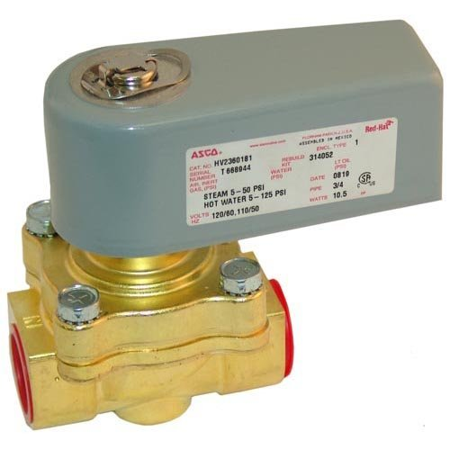 Hobart HOT WATER SOLENOID VALVE 120V 3/4 106468-5
