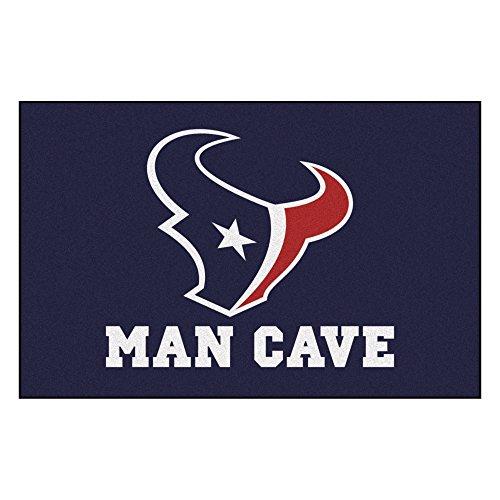 FANMATS 14309 NFL Houston Texans Nylon Universal Man Cave Starter Rug