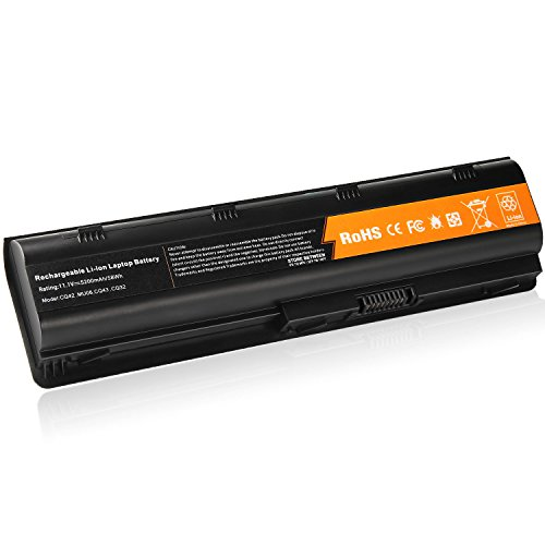 Fancy Buying New Replacement Laptop Battery for 593550-001 593553-001 593554-001 HP MU06 [Li-ion 6-cell 5200mAh/56WH 11.1V] (Better choice)