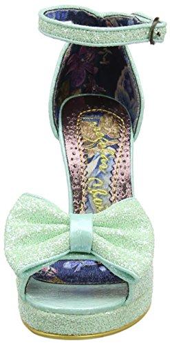 Irregular Choice Flaming June - Sandalias de tobillo Mujer verde (Mint)