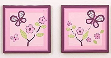 (Sugar Plum Canvas Art - Set of 2)