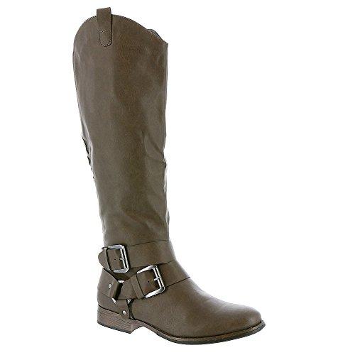 MADELINE girl Womens Booya Harness Boot Grey Synthetic H0Bj4gZVjG