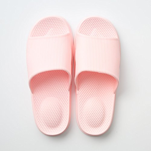 Pink 40 summer 39 slippers slippers women bath and slippers girl plastic Home slip thick cool slippers home anti fankou home couples indoor q1AFwH4