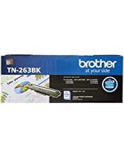 Brother TN-263BK ASA Original Toner Cartridge Compatible with DCN/HL/MFC, 1400 Pages, Black