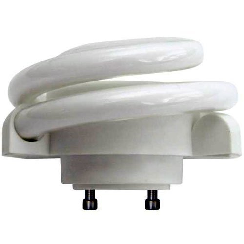 ((Case of 6) TCP 33213SSP SpringLamp CFL - w Soft White (2700-Kelvin) GU24 Base Spiral Light...)
