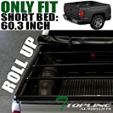 R&L Racing Heavy Duty Roll-Up Soft Tonneau Cover 05-15 Toyota Tacoma Double/Crew CAB 5ft 60