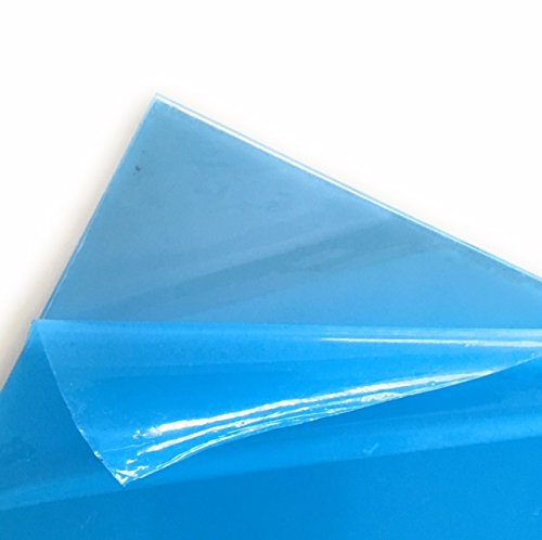 Clear Acrylic Sheet, .118 inch (3mm) thick, 12 inch x 12 inch