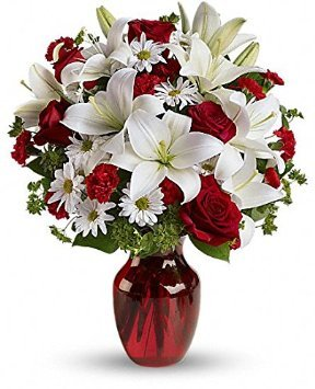 Amazoncom Red Roses Country Flowers Delivery Same Day Flower