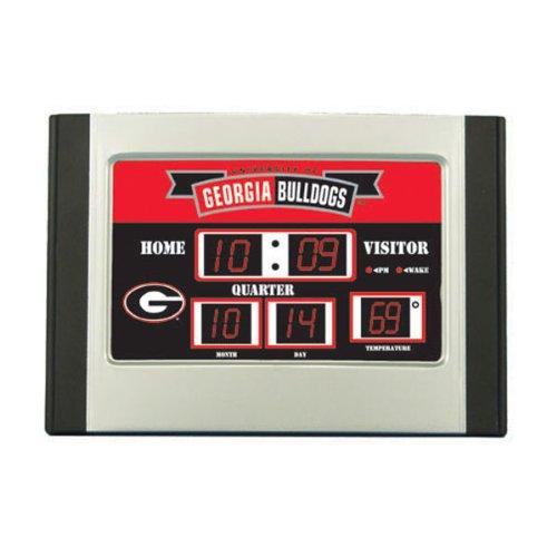 Georgia Bulldogs Scoreboard Desk Clock