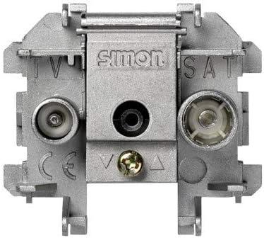 Simon - 73487-69 toma r-tv intermedia extraplana s-73 Ref. 6557339111
