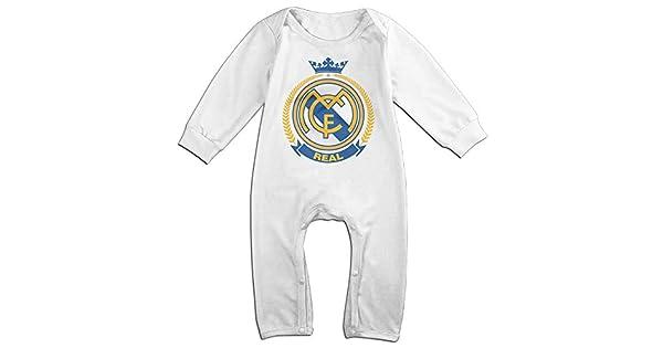 Amazon.com: Real Madrid bebé Onesie Bodysuit recién nacido ...