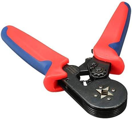 YKJ-YKJ プライヤーハンドツール、8 6-4A0.25-6mm²23-10フェルールクリンパープライヤー自動調整するラチェット ペンチ