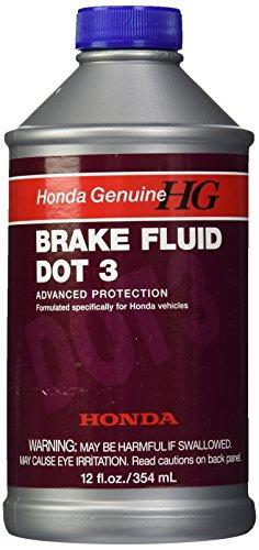 Honda Genuine (08798-9008-24PK) DOT-3 Brake Fluid - 12 oz, (Pack of 24) (Genuine Honda Brake Fluid)