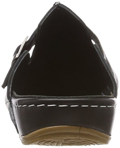 Sabots Conti Femme Schwarz 002 0025737 Noir Andrea AERH0n