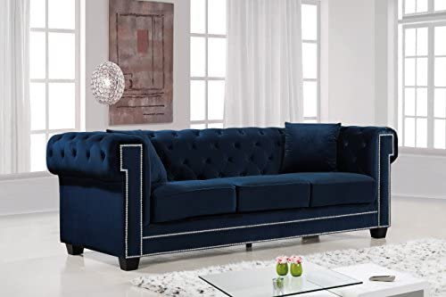 Meridian Furniture Bowery Collection Modern | Contemporary Button Tufted