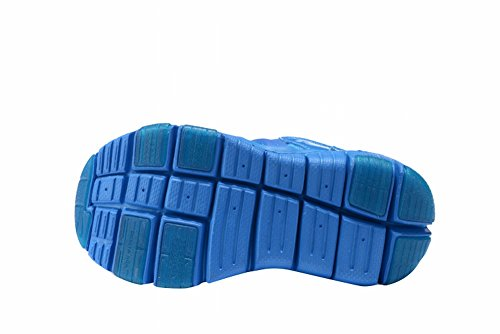 2016dinamo free TD Little Kid esterna traspirante scarpe da corsa, Ragazzi, Blue, UK3=EUR35=23CM