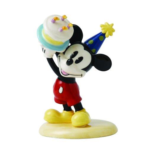 Figurine Royal Doulton Birthday (Royal Doulton Walt Disney Showcase Mickey Mouse Happy Birthday Figurine)