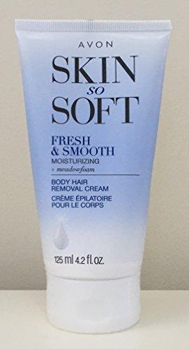 Avon Skin So Soft Fresh & Smooth Moisturizing Skin Hair Removal Cream Avon Skin So Soft Hair Removal