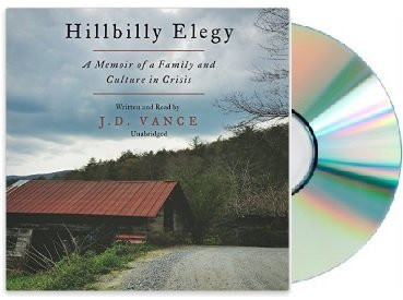Book cover from [Hillbilly Elegy Audiobook]{Hillbilly Elegy Unabridged Audiobook}(J. D. Vance Hillbilly Elegy Audiobook)by J. D. Vance