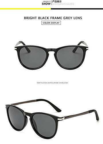 20a64113c4 Hectare Buy bright black grey  LongKeeper Brand Classic Polarized sunglasses  Men Driving Square Black Frame Ey  Amazon.in  Clothing   Accessories