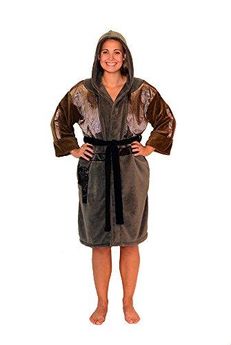 Sexy R2d2 Costumes (Star Wars Rogue One Jyn Women's Costume Fleece Robe OSFM)