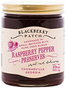 Raspberry Pepper Preserves – Blackberry Patch 10 oz Jar – Gourmet All  Natural Organic, replaces Jam and Jelly, Authentic Homemade Old Fashioned