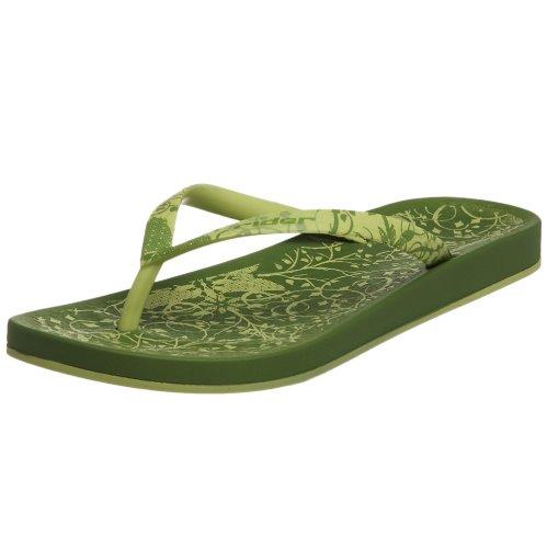 Riker Mujeres Romantic Thong Green