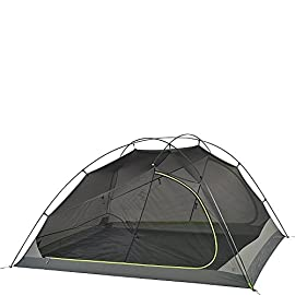 Kelty TN 4 Tent 90 Sleeps 4 Factory Sealed Main Fly and Floor seams Compact Shockcorded DAC PressFit Hubbed aluminum frame is light, strong, sturdy and dependable