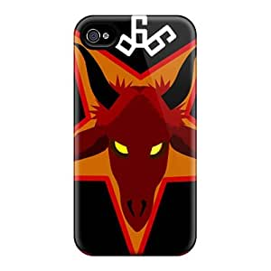 High Quality Mobile Cases For Iphone 4/4s With Allow Personal Design Beautiful Disavowed Band Pictures InesWeldon
