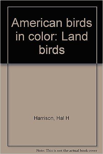 American birds in color land birds hal h harrison amazon com books