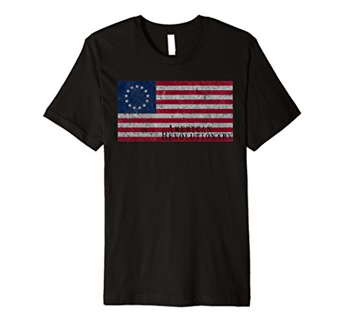 Betsy Ross Flag | American Revolutionary Vintage SlimFit Tee Betsy Ross Flag Girls