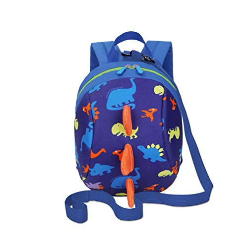 DD Toddler Boys Girls Kids Dinosaur Backpack, Cartoon Safety Anti-lost...