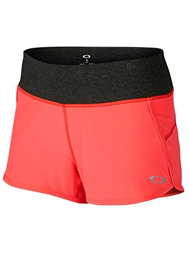 Oakley Womens Crunch And Burn 2.0 Short X-Large Coral Glow