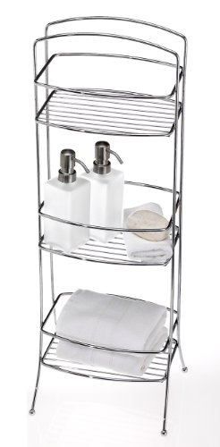 Creative Bath Lido Vanity Valet, Chrome
