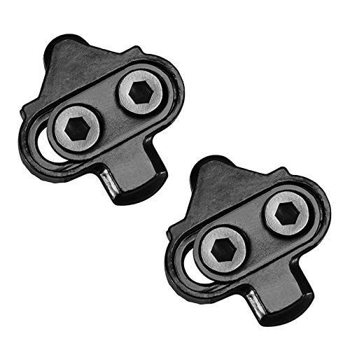 LANNIU Road Bike Cleats+Cleat Covers Set,Compatible with Shimano SPD-SL Pedals SM-SH11 Cleats,6 Degree Float for Road Bike Outdoor/Indoor Spin Cycling Shoes Man Comfortable